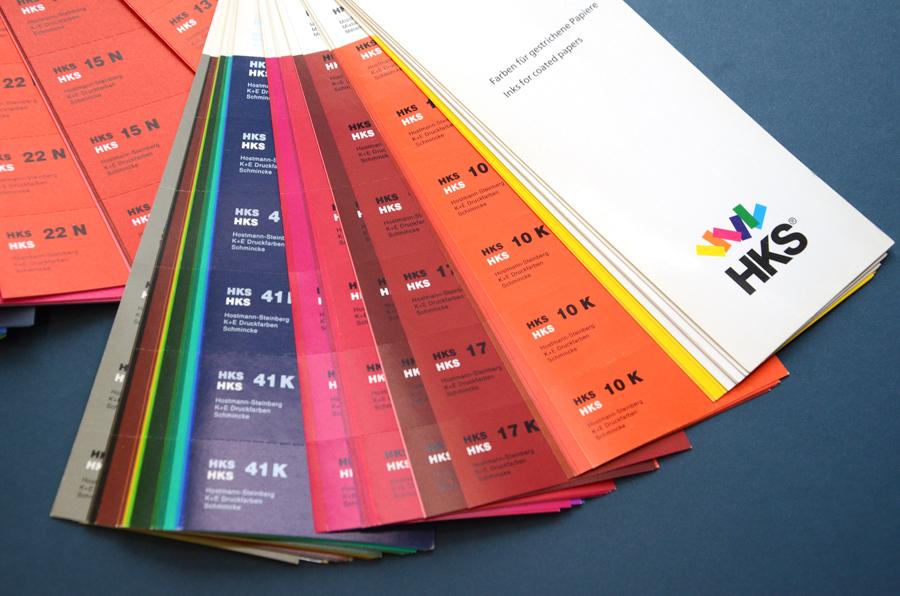 Sonderfarben Farbfächer HKS