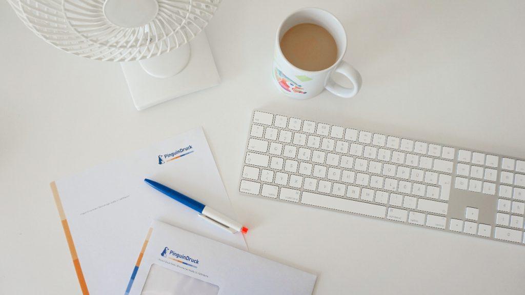 Grammatur für die Geschäftsausstattung