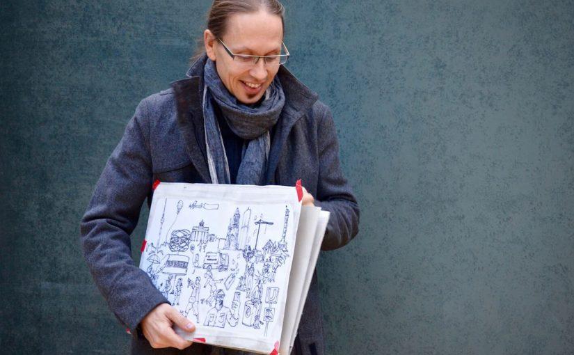 Hinter den Kulissen unseres Adventskalenders – Das Berlin-Motiv von Sebastian Matthäus